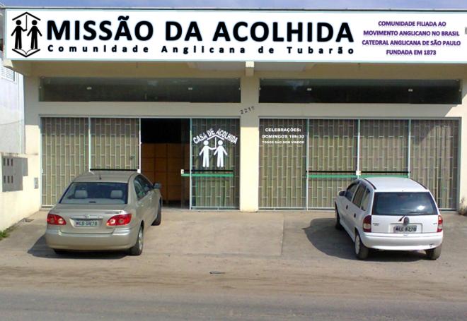 FACHADA MISSÃO DA ACOLHIDA