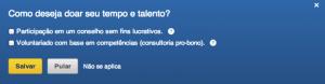 Já viu essa opção no seu perfil do LinkedIn?