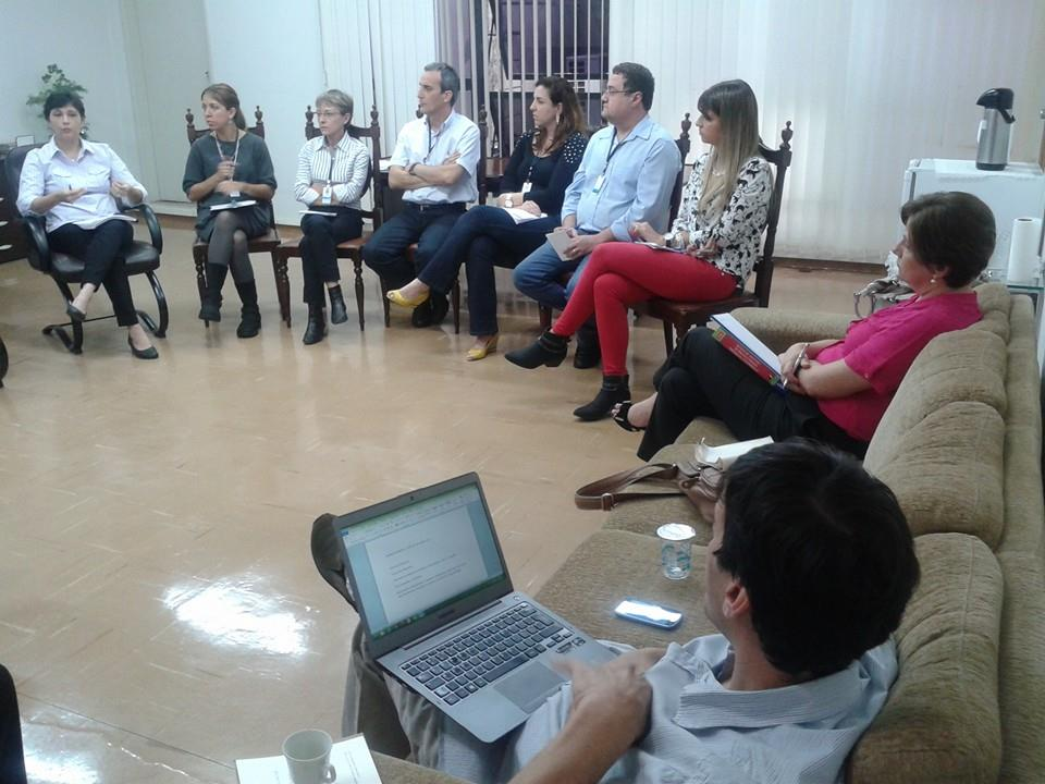 Reunião para acompanhamento do trabalho dos vereadores. Foto: divulgação