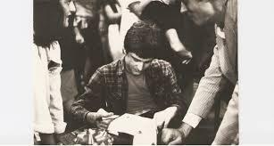 Lançamento do livro e autógrafo a Eduardo Suplicy Foto: Arquivo Pessoal