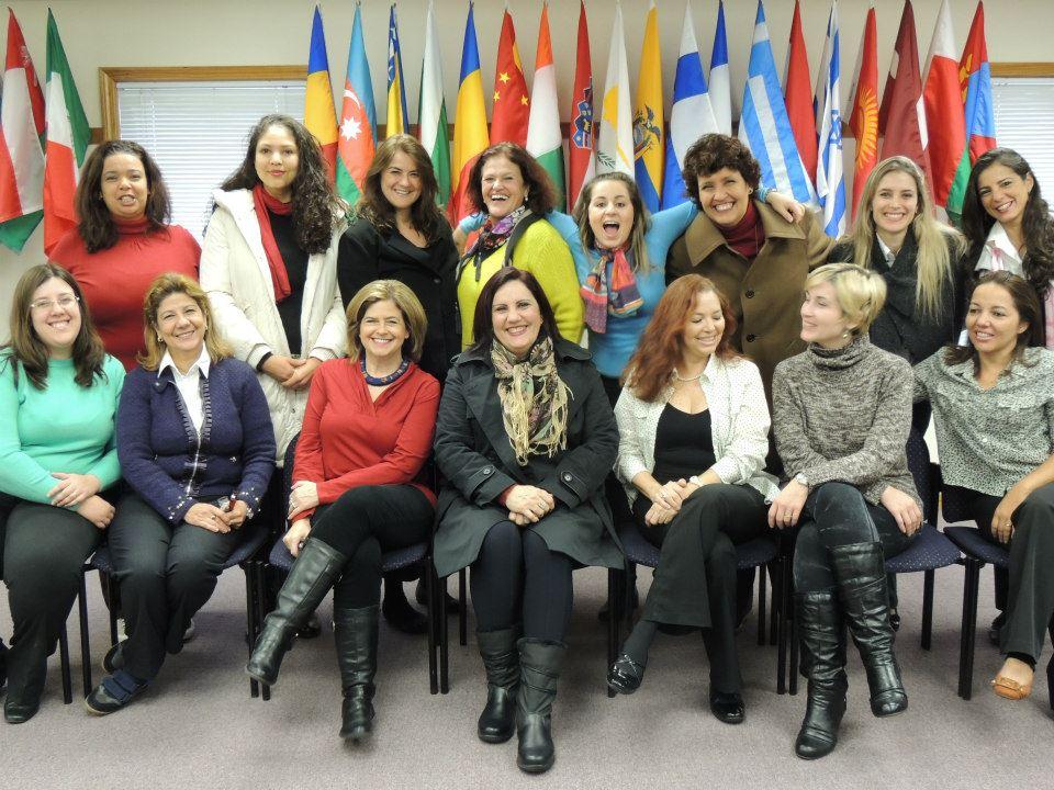 Empowerment Women Exchange Programm (Intercâmbio de Empoderamento Feminino) - EUA 2012.