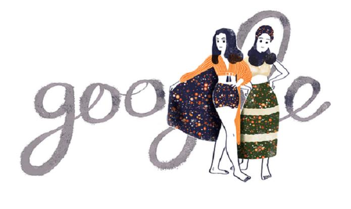 Zuzu Angel ganha homenagem do Doodle do Google (Foto: Reprodução/Google)