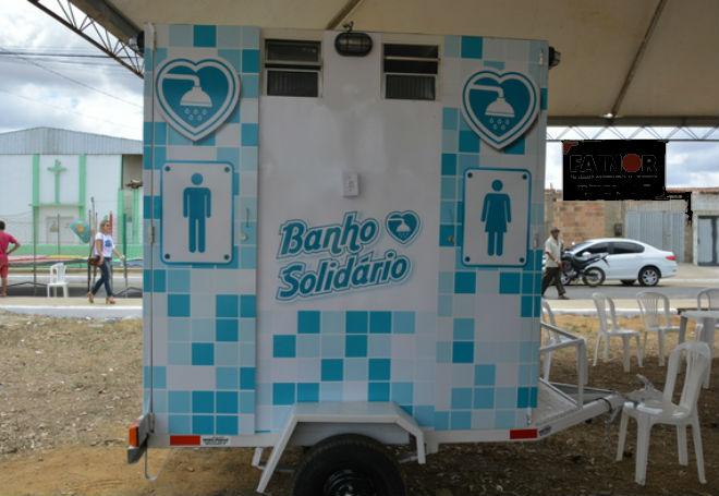 banho solidário