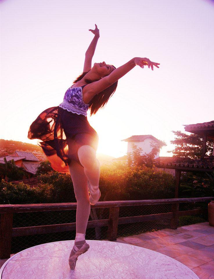 Bailarina ao Ar