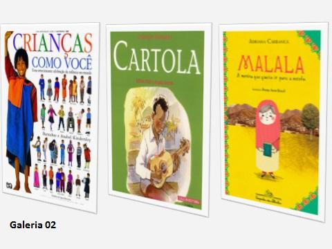 Estes livros trazem depoimento das crianças sobre seu cotidiano em diferentes contextos. São muito receptivos pela criança leitora. Promovem aprendizagem  sobre a luta pelos direitos humanos frente ao multiculturalismo.