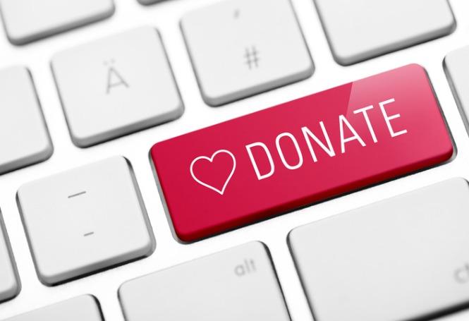 Página de doação