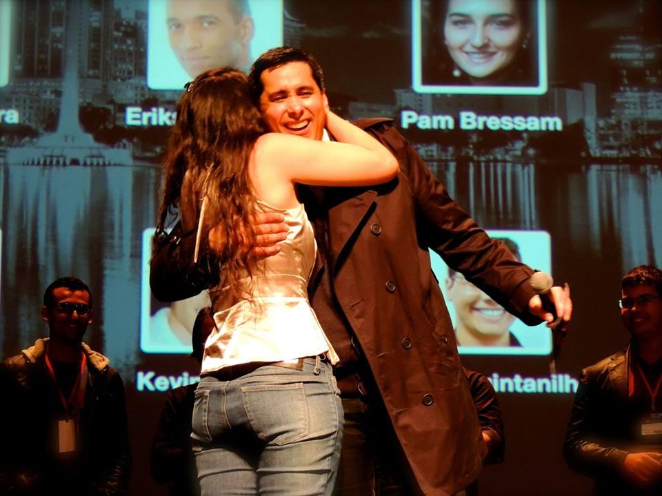 Pâm Bressan e Flávio Foto: Arquivo Pessoal