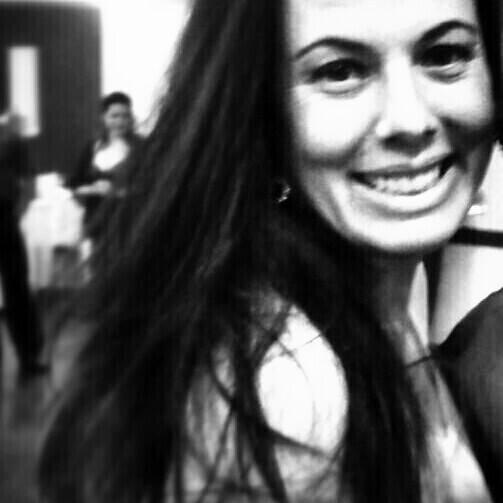 A Grasiela mostrando como um sorriso pode mudar o mundo Foto: arquivo pessoal