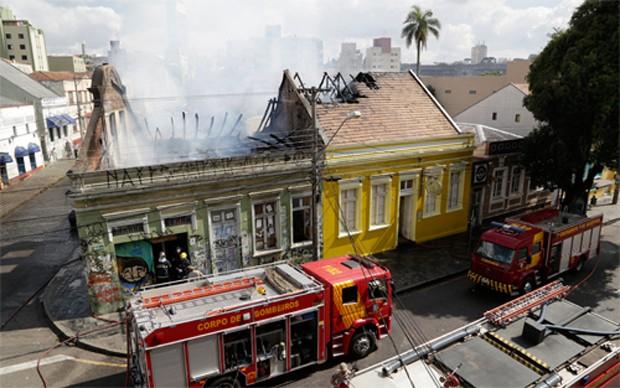 casa-incêndio