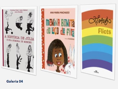 São livros que fazem a criança pensar sobre o direito e o encanto de ser diferente. Valorização do respeito e da solidariedade.